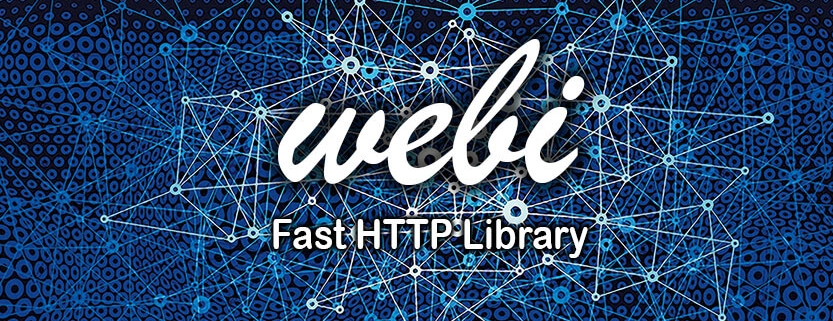 Webi Fast and full of features HTTP library that makes easy networking and caching response for Android apps